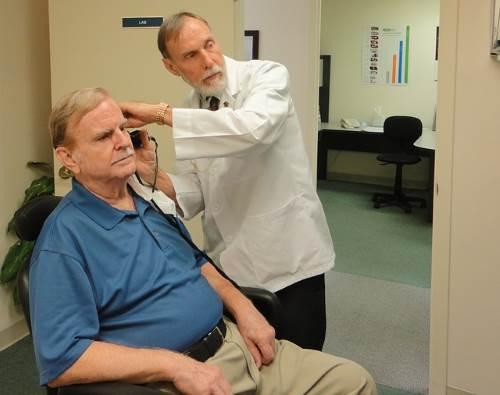 examen presbyacousie