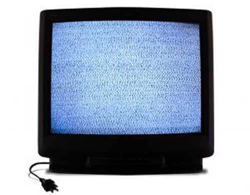television-neige